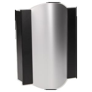 Dzwonek elektromechaniczny dwutonowy TON COLOR 8V, czarno-srebrny