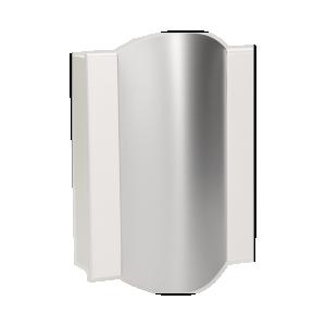 Dzwonek elektromechaniczny dwutonowy TON COLOR 8V, biało-srebrny
