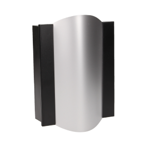 Dzwonek elektromechaniczny dwutonowy TON COLOR 230V, czarno-srebrny