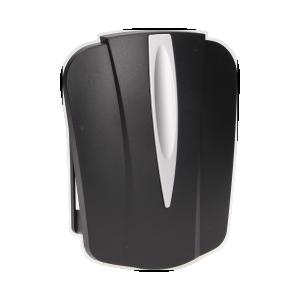 Dzwonek elektromechaniczny dwutonowy 8V, czarny