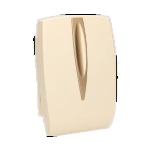 Dzwonek elektromechaniczny dwutonowy 8V, beżowy