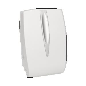 Dzwonek elektromechaniczny dwutonowy 8V, biały