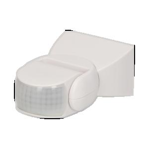 Adjustable PIR motion sensor 180°, IP65
