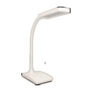 TOPAZ LED 6W, lampka biurkowa, 360lm, 3000K, biała
