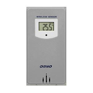 Czujnik temperatury zewnętrzny do  stacji pogodowej OR-SP-3100, szary