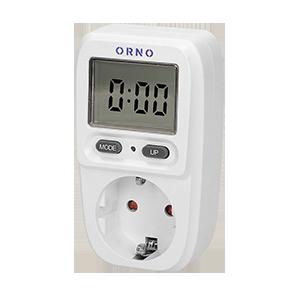 Watomierz, kalkulator energii z wyświetlaczem LCD, wersja schuko
