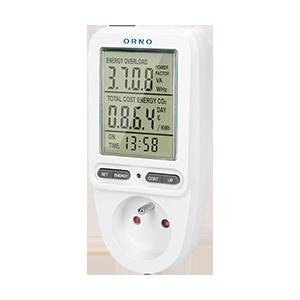 Energiekostenmessgerät / Stromverbrauchszähler mit LCD-Display