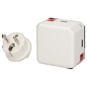 Rozgałęźnik Power USB z funkcją Power Bank