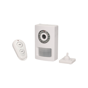 Wireless motion sensor with a built-in camera for MH alarm