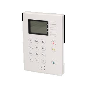 Centrala alarmowa z klawiaturą cyfrową i wbudowanym modułem GSM, bezprzewodowa, MH