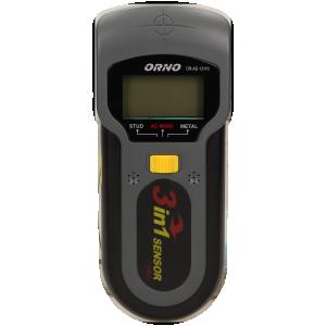 Detektor przewodów, drewna i metalu 3w1 z podświetleniem