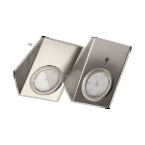 LED-Möbelleuchten-Set mit berührungslosem Schalter