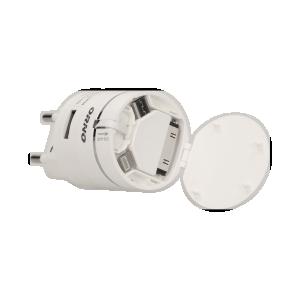 Ładowarka USB 3w1 z automatycznie zwijanym kablem