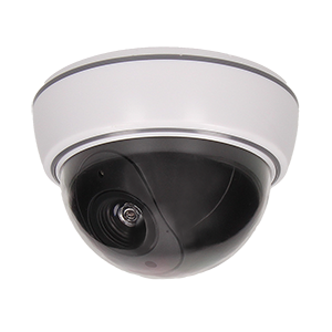 Kuppel Überwachungskamera-Attrappe ohne Infrarot