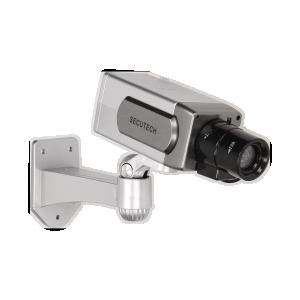 Überwachungskamera-Attrappe CCTV mit Bewegungdsensor