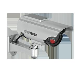 Atrapa kamery monitorującej CCTV z panelem solarnym