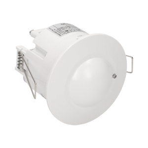 Flush mounted microwave sensor 360°