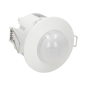 Flush mounted PIR motion sensor 360° with 3 detectors