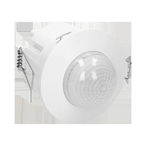 Flush mounted PIR motion sensor 360° with 3 detectors
