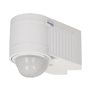 PIR motion sensor 360°, 3 detectors, 3 ways of installation, IP44