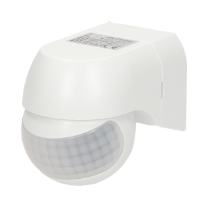 Mini PIR motion sensor 180°, IP44