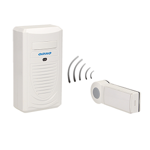 DISCO AC dzwonek bezprzewodowy, 230V z learning system