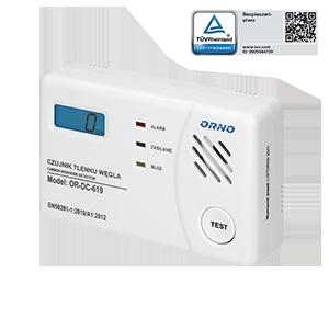 Bateryjny czujnik tlenku węgla (czadu) - TEST