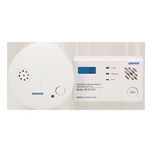 Kohlenmonoxid (Kohlenmonoxid)-Sensor CO-Detektor Set , Rauchsensor Set, batteriebetrieben