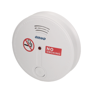 Battery operated cigarette smoke detector
