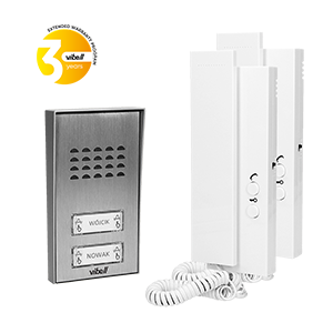 2-wire doorphone, surface mounted, SAGITTA MULTI