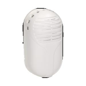 Dzwonek elektroniczny dwutonowy 230V, biały