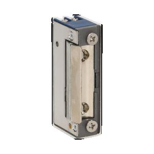 Elektrozaczep symetryczny bez pamięci, bez blokady MINI, NISKOPRĄDOWY 280mA dla 12VDC