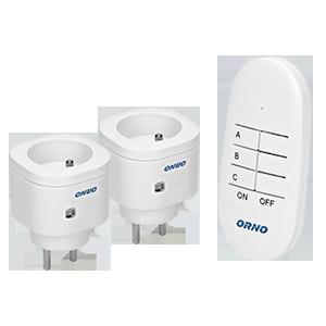 Single socket with two USB chargers, schuko type