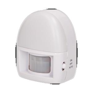 Batteriebetriebene LED-Leuchte mit Bewegungsmelder 3xLED