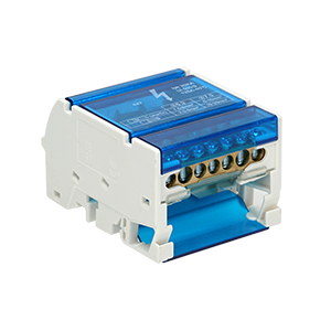 4-row power distribution block, 7 cables