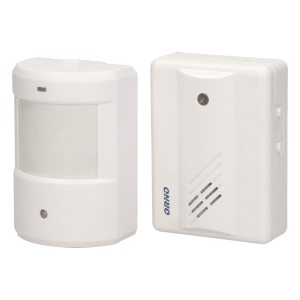 Motion sensor with wireless indicator
