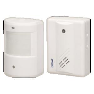 Bewegungsmelder mit Signalisierung und Alarm IP20