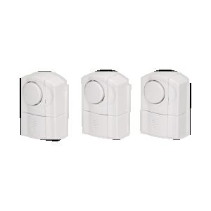 Alarmset mit Magnetsensor für Fenster und Türen, 3 St.