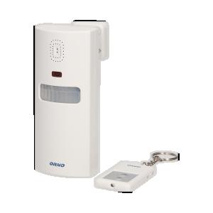 Funk-Alarm mit eingebauter Sirene und Fernbedienung