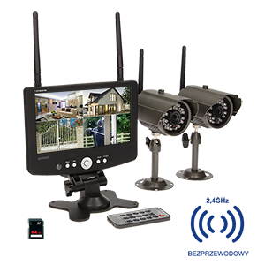 4-channel, wireless monitoring system