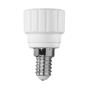 Bulb holder adapter E14/GU10