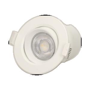 Ruchoma oprawa downlight, podtynkowa SARMA LED ze ściemniaczem 9W, 4000K