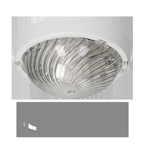 Oprawa AUTAN z czujnikiem ruchu 360°, poliwęglan, przezroczysty
