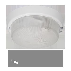 Oprawa AUTAN z czujnikiem ruchu 360°, szklany, mleczny