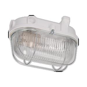 Oprawa oświetleniowa BURAN E27, szklany ze stalową osłoną