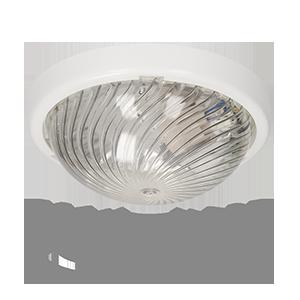 Leuchte FEN mit Mikrowellensensor, 360 Grad, aus Glas, transparentes