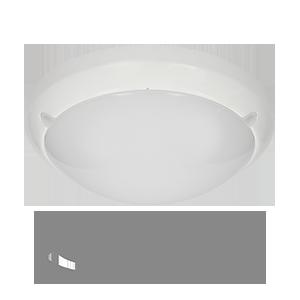 Plafon LUMO LED z 3 funkcyjnym mikrofalowym czujnikiem ruchu, 3W/16W