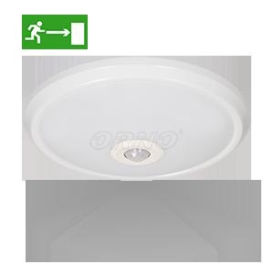 Plafon ZONDA LED EMERGENCY z czujnikiem ruchu 360°, 12W/1,2W