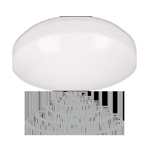 Plafon VEGA LED II z mikrofalowym czujnikiem ruchu, 18W