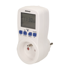 Weekly digital timer with LCD display